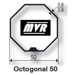 Bagues Octogonal 50 moteur Becker R - Moteur volet roulant
