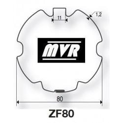 Bagues ZF 80 moteur Becker R - Moteur volet roulant