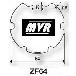Bagues ZF 64 moteur Becker R - Moteur volet roulant