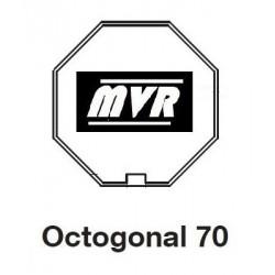 Bagues Octogonal 70 moteur Becker L - Moteur volet roulant