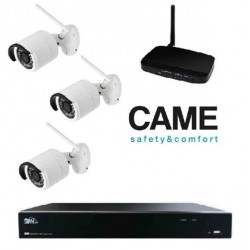 Kit videosurveillance Came IP Wifi 001FR2276CCTV 3C - 3 cameras