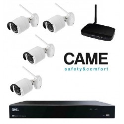 Kit videosurveillance Came IP Wifi 001FR2276CCTV 4C - 4 cameras