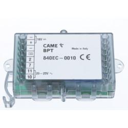 Convertisseur alimentation interphone Came 001DC011AC