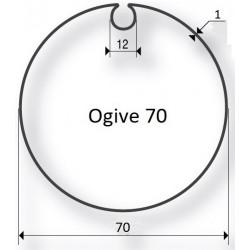 Cherubini - Bagues moteur - Tube Ogive 70