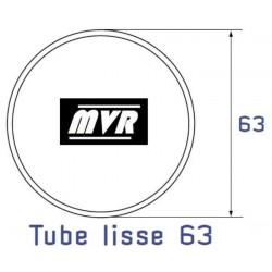Bague moteur Deprat Tube rond lisse 63