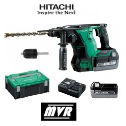 Perforateur burineur Hitachi SDS Plus 36V 2.6 Ah - DH36DBL - Outillage