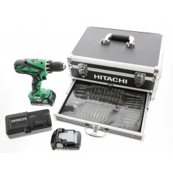 Perceuse visseuse Hitachi 18V - KC18DJLF + 2 batteries 2.5 Ah