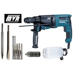 Perforateur Burineur Makita HR2631FTX4 SDS Plus 800 W