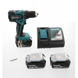 Perceuse visseuse Makita 18V DDF459RM3J + 3 batteries 4 Ah Li-Ion
