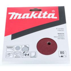 Disque abrasif Makita 6 trous P-37493 - 150 mm