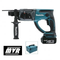 Perforateur Burineur Makita DHR202RFJ - SDS Plus 18V Li-Ion 3 Ah 20 mm