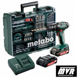 Perceuse visseuse à percussion Metabo SB 18 Set 18V 2Ah