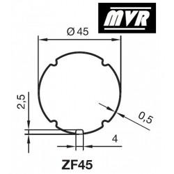 Bagues ZF 45 moteur Nice Era S - Volet roulant, store