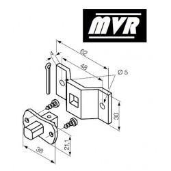 Support moteur Nice Era S Pivot carré 10 mm