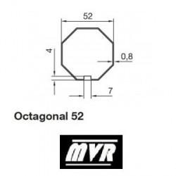 Bagues Octogonal 52 - moteur Nice Era M - Era MH