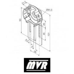 Support moteur Nice Era M Compact réglable