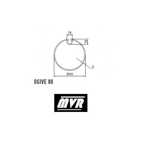 Bagues Ogive 80 - moteur Nice Era M - Era MH