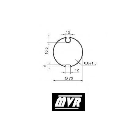 Bagues Rond avec Ogive 70 - moteur Nice Era M - Era MH