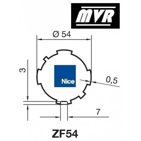 Bagues ZF 54 moteur Nice Era M - Era MH