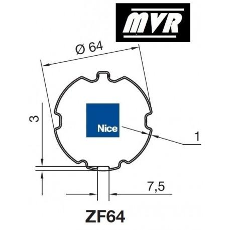 Bagues ZF 64 moteur Nice Era M - Era MH
