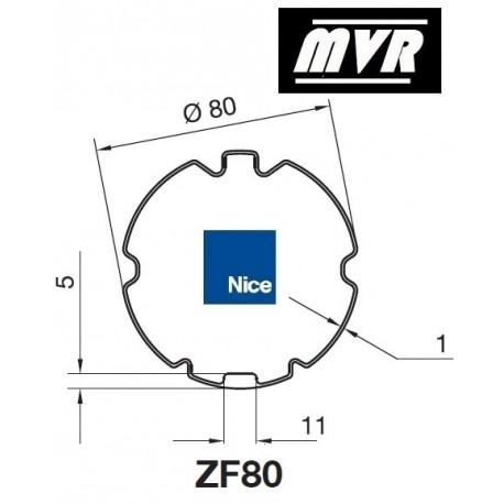 Bagues ZF 80 moteur Nice Era M - Era MH
