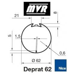 Bagues Deprat 62 moteur Nice Era M - Era MH