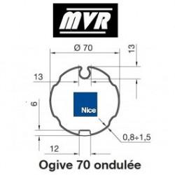 Bagues Ogive 70 ondulé - moteur Nice Era M - Era MH