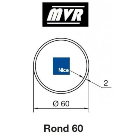 Bagues Rond 60 x 2 moteur Nice Era M - Era MH