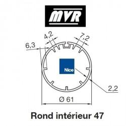 Bagues Rond interne 47 moteur Nice Era M - Era MH