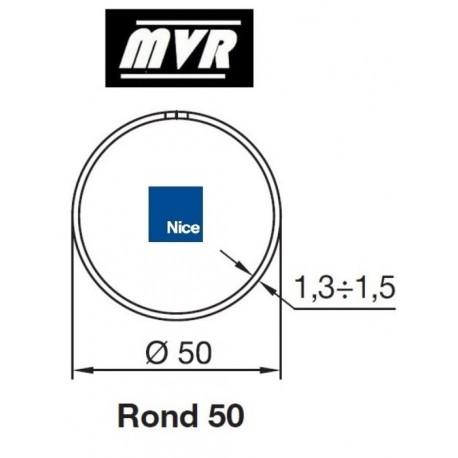 Bagues Rond 50 moteur Nice Era M - Era MH (avec couronne compensée)