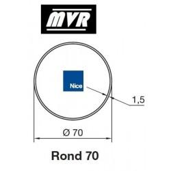 Bagues Rond 70x1.5 moteur Nice Era M - Era MH