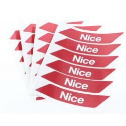 Lot de bandes de signalisation Nice - Barrière levante