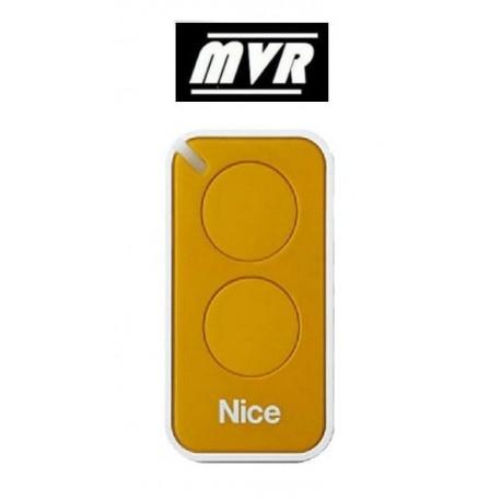 Telecommande Nice Era inti - 2 canaux - jaune