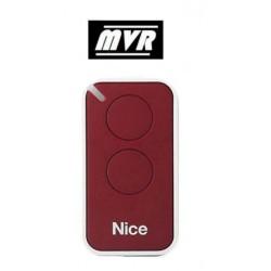 Telecommande Nice Era inti - 2 canaux - rouge