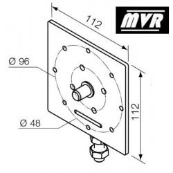 Support moteur Nice Era MH réglable - diamètre 10 mm