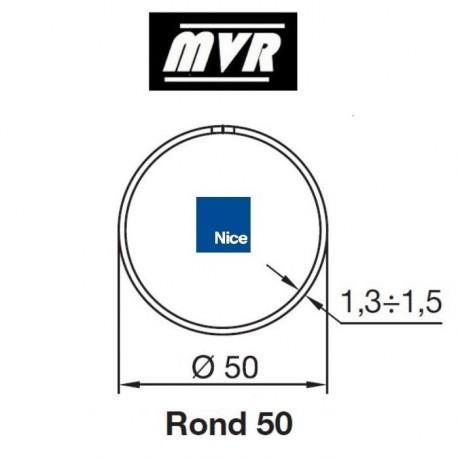 Bagues Rond 50 moteur Nice Era M - Era MH (avec couronne à anneau)