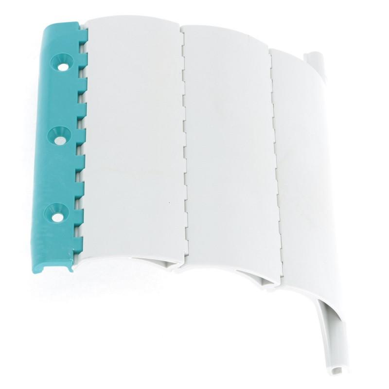 attache dva tablier volet roulant 4 elements axe 56 mm. Black Bedroom Furniture Sets. Home Design Ideas