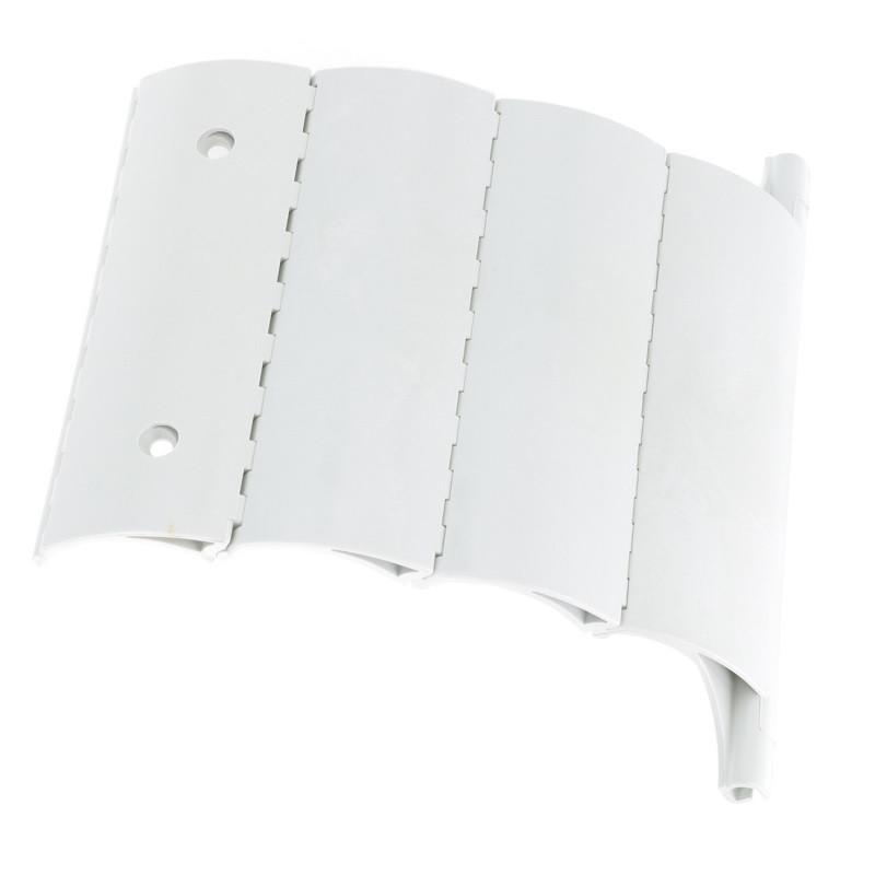 attache dva tablier volet roulant 4 elements axe 64 mm. Black Bedroom Furniture Sets. Home Design Ideas