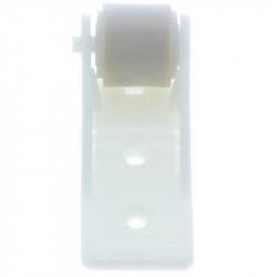 Galet anti-flexion volet roulant blanc roulette 18 mm