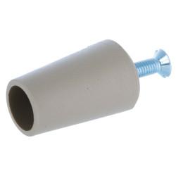 Butée volet roulant conique 40 mm beige gris