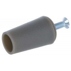 Butée volet roulant conique 40 mm gris quartz