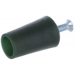Butée volet roulant conique 40 mm verte