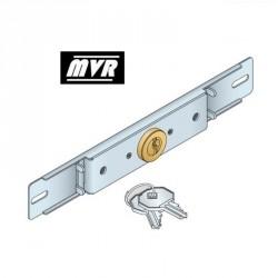Serrure volet roulant pour lame intermédiaire avec 2 clés