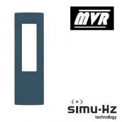 Cadre pour telecommande Simu Bleu minéral