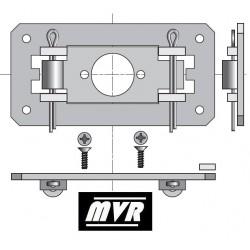 Support moteur Somfy LS40 plaque fixe volet roulant