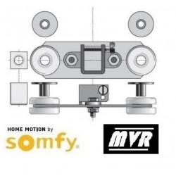 Support embout moteur Somfy Anti-vibratoire