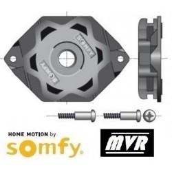 Support moteur Somfy LT50 - LT60 CSI - Etoile