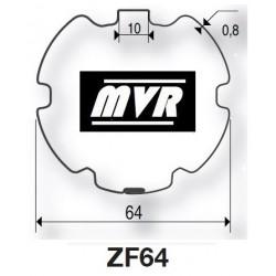 Bagues moteur Somfy LT50 - ZF64