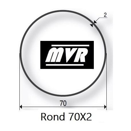 Bagues moteur Somfy LT50 - Rond 70x2