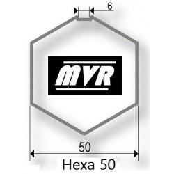 Bague moteur volet roulant Somfy LT50 - Hexagonal 50